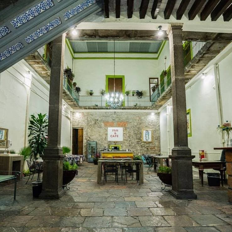 Hostal puebla santo domingo